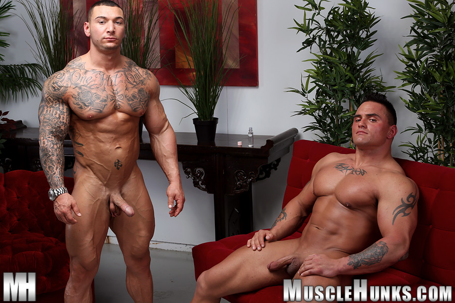 Muscle-Hunks-Jackson-Gunn-and-Caleb-del-Gatto-Amateur-Wrestle-In-Jock-Straps-and-Jerk-Off-Amateur-Gay-Porn-13 Amateur Straight Bodybuilders Wrestle In Jock Straps and Bust A Nut Together
