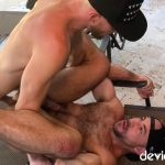 Deviant-Otter-Hairy-Guys-With-Big-Dicks-Fucking-Bareback-Outside-Video-14-150x150 Deviant Otter Barebacks His Hairy Jock Neighbor And Blasts His Face With Jizz